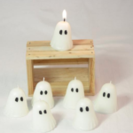 Cute little Votive Ghost Candle created by CountryRichCreations found on Etsy